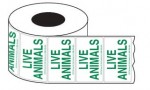 Live Animal Labels